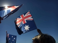 Flying the aussie flag multiple
